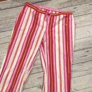 Pink vs pajama pants